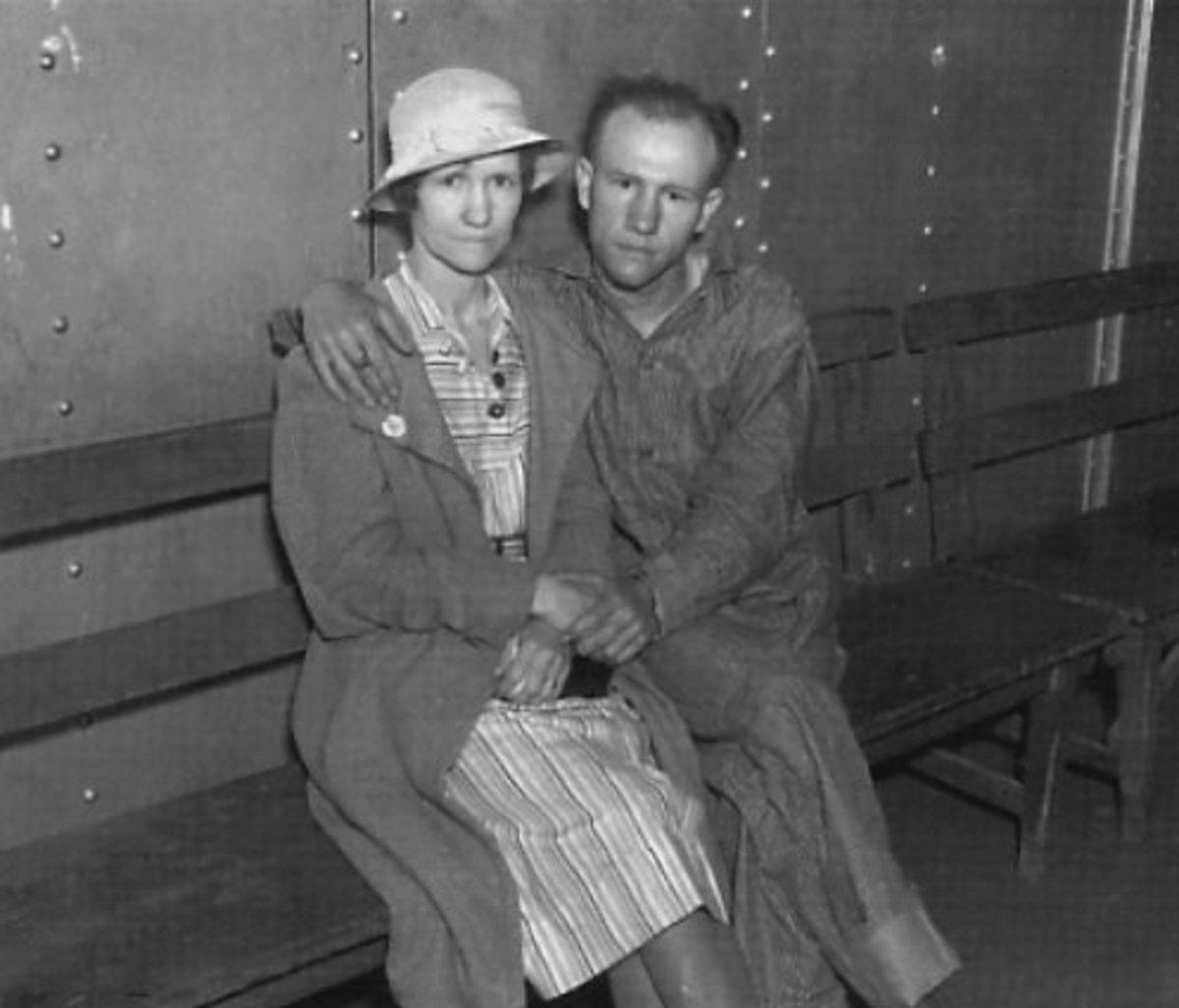 Raymond Hamilton with his mother, Alice