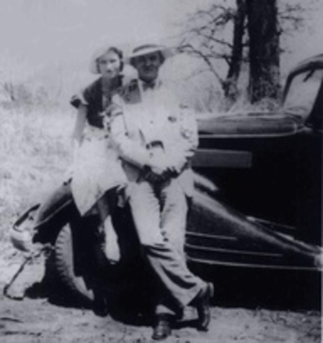 Bonnie Parker and Joe Palmer