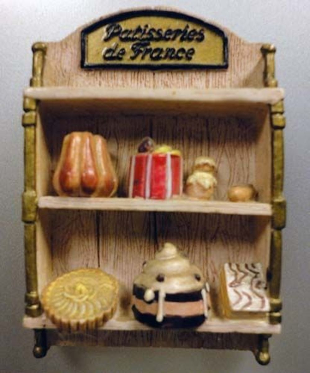 Patisseries of France