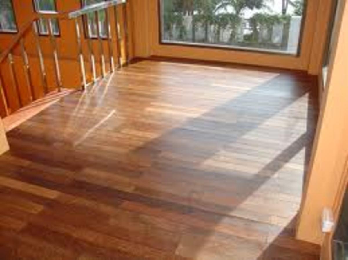 Coconut lumber flooring