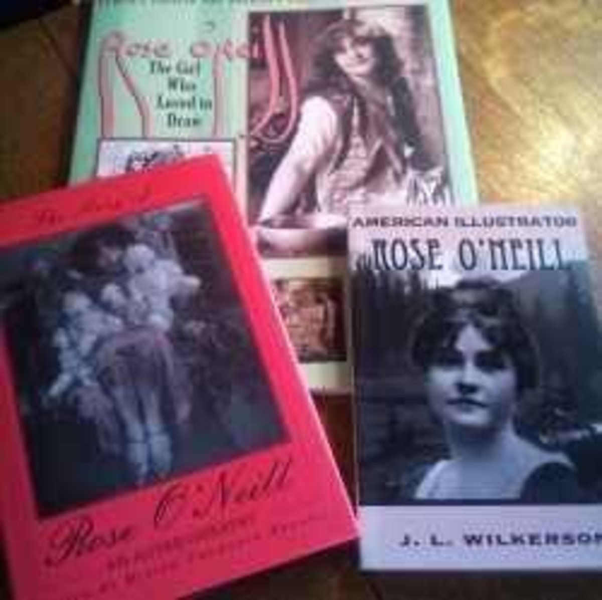 A few books from my Rose O'Neill collection.