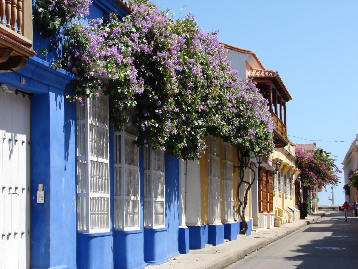 An attractive street scene