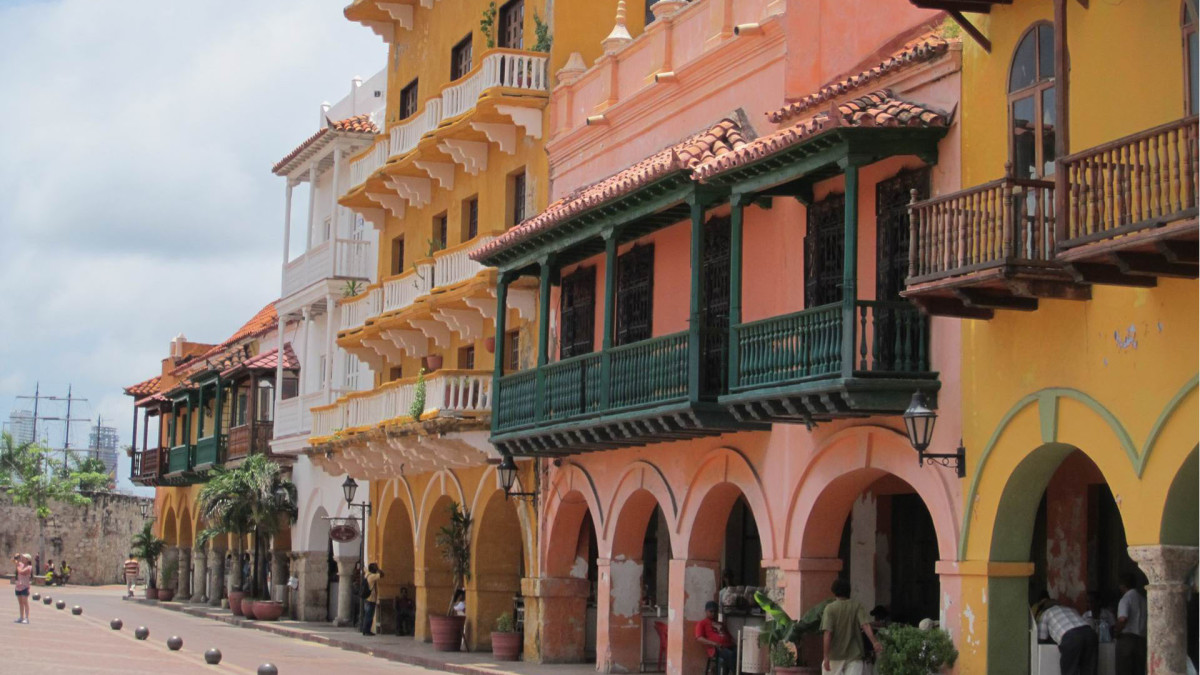 Plaza in Cartagena