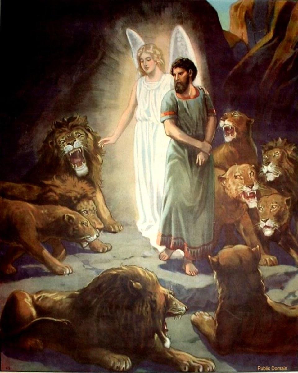 Daniel among the Lions.