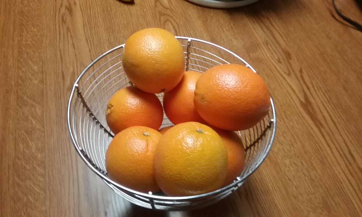 All citrus such as the oranges pictured are full of vitamin C