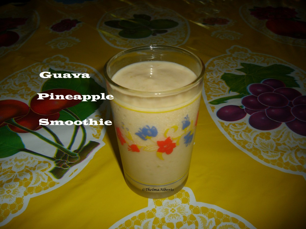 Guava Pineapple Smoothie