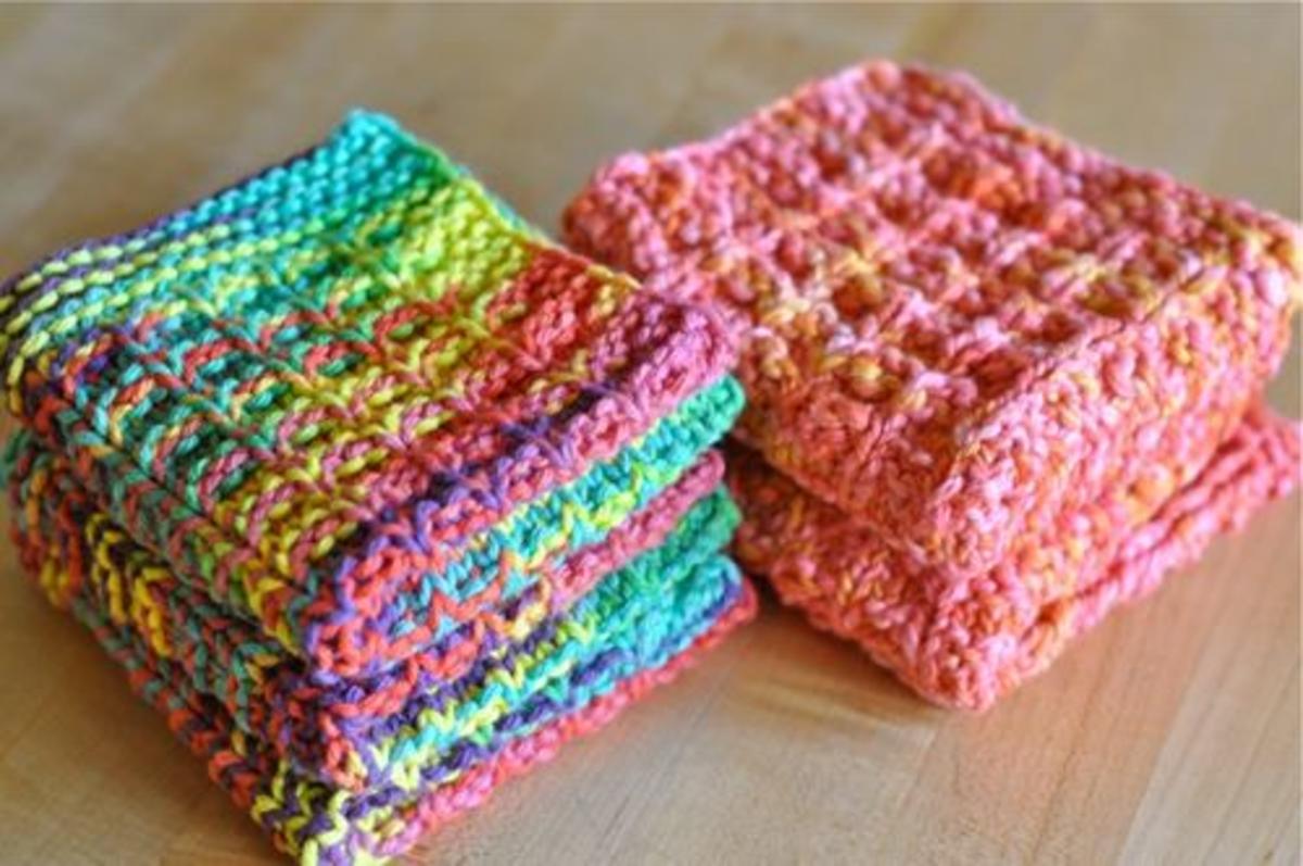 Knitting Dishcloths Free Patterns | HubPages