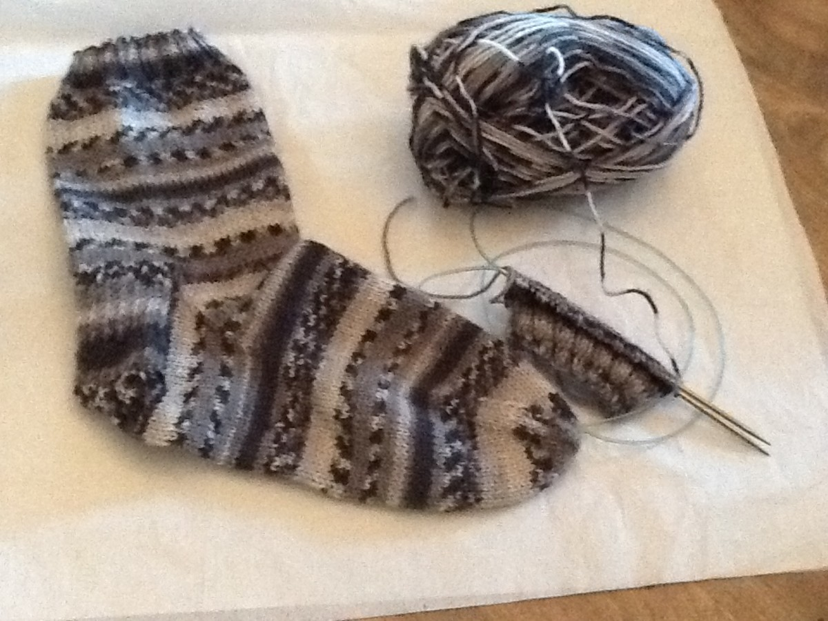 Knitting Socks Methods and Free Patterns