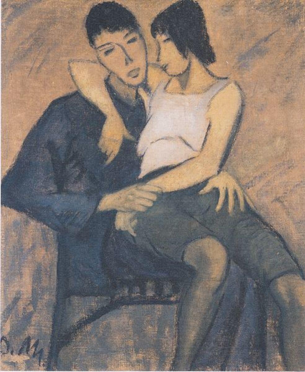 Otto Mueller - Liebespaar - ca1914