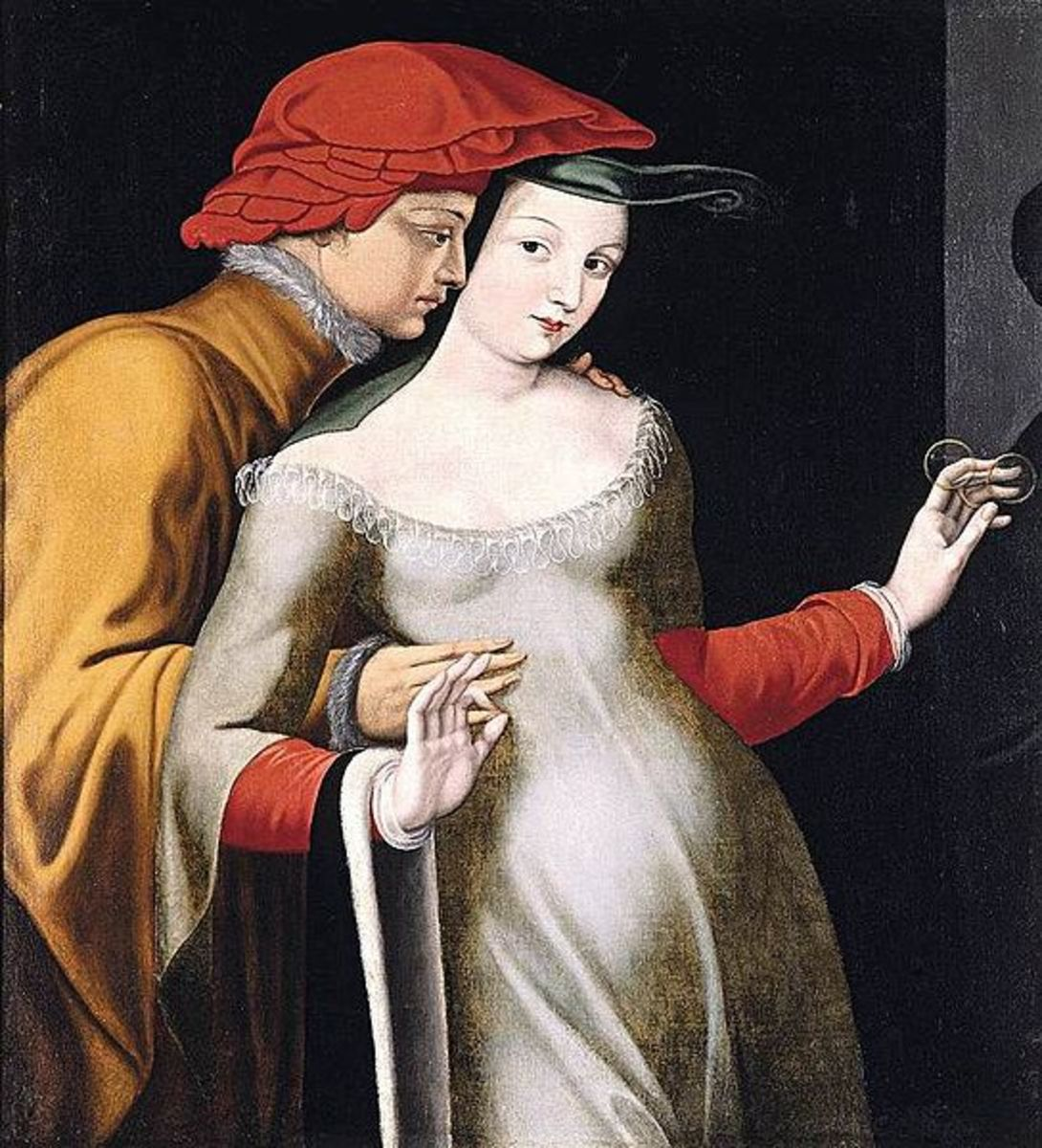 Images of Lovers in Art - A Valentine Gallery