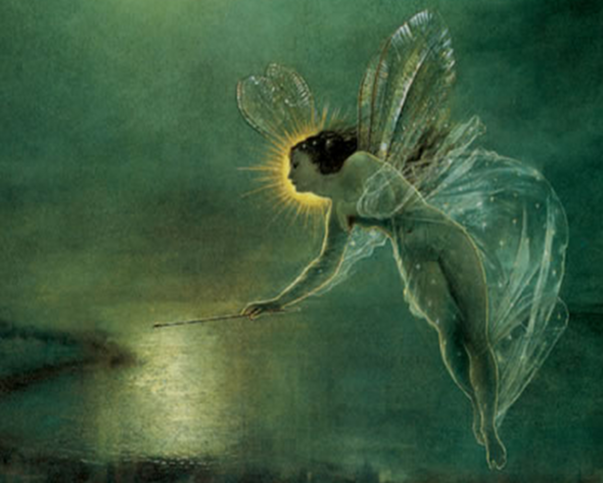 John Atkinson Grimshaw. Fairies.