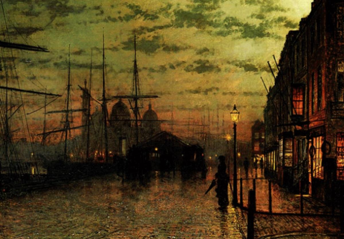 Humber Docks: John Atkinson Grimshaw