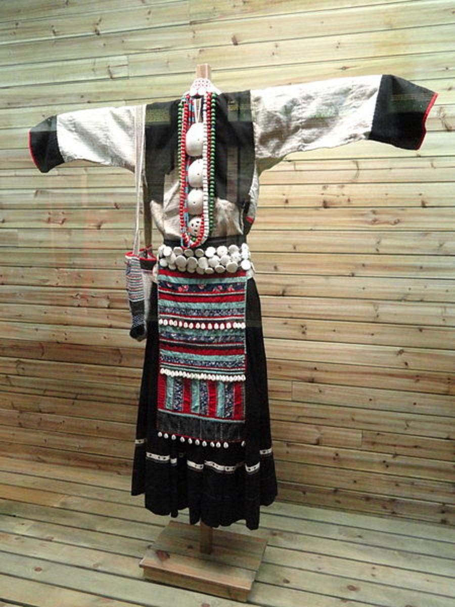 Hemp fiber dress