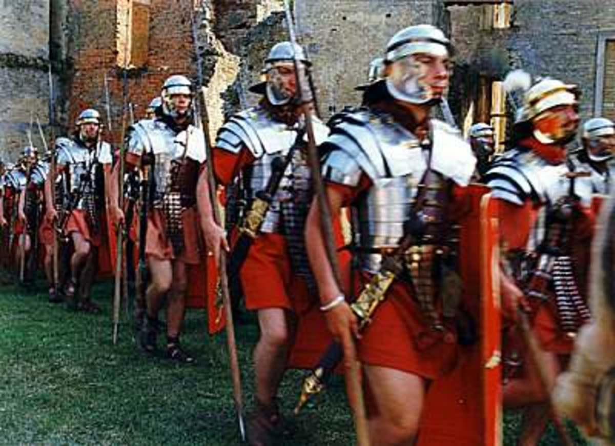 The Roman Empire Army and The Legions, Uniform & Armor Information, Images, Weaponry