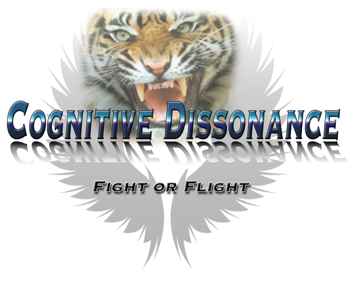 Cognitive Dissonance triggers our emotional defense system flight or flight.