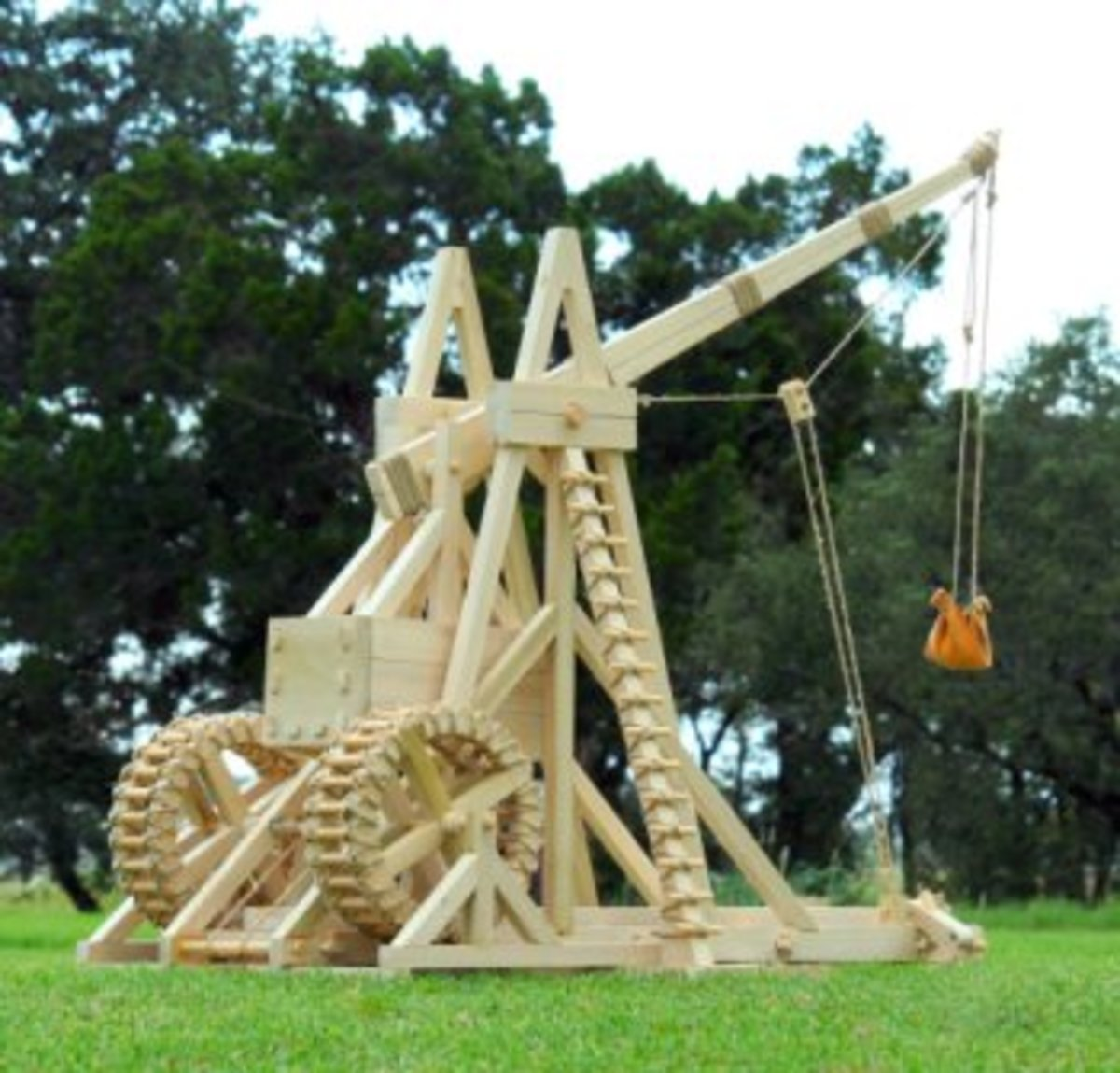Reconstructed Siege Catapult