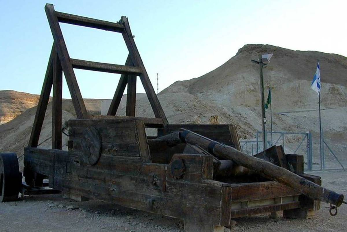 Roman Weaponry, Ancient Artillery & Siege Weapons ...