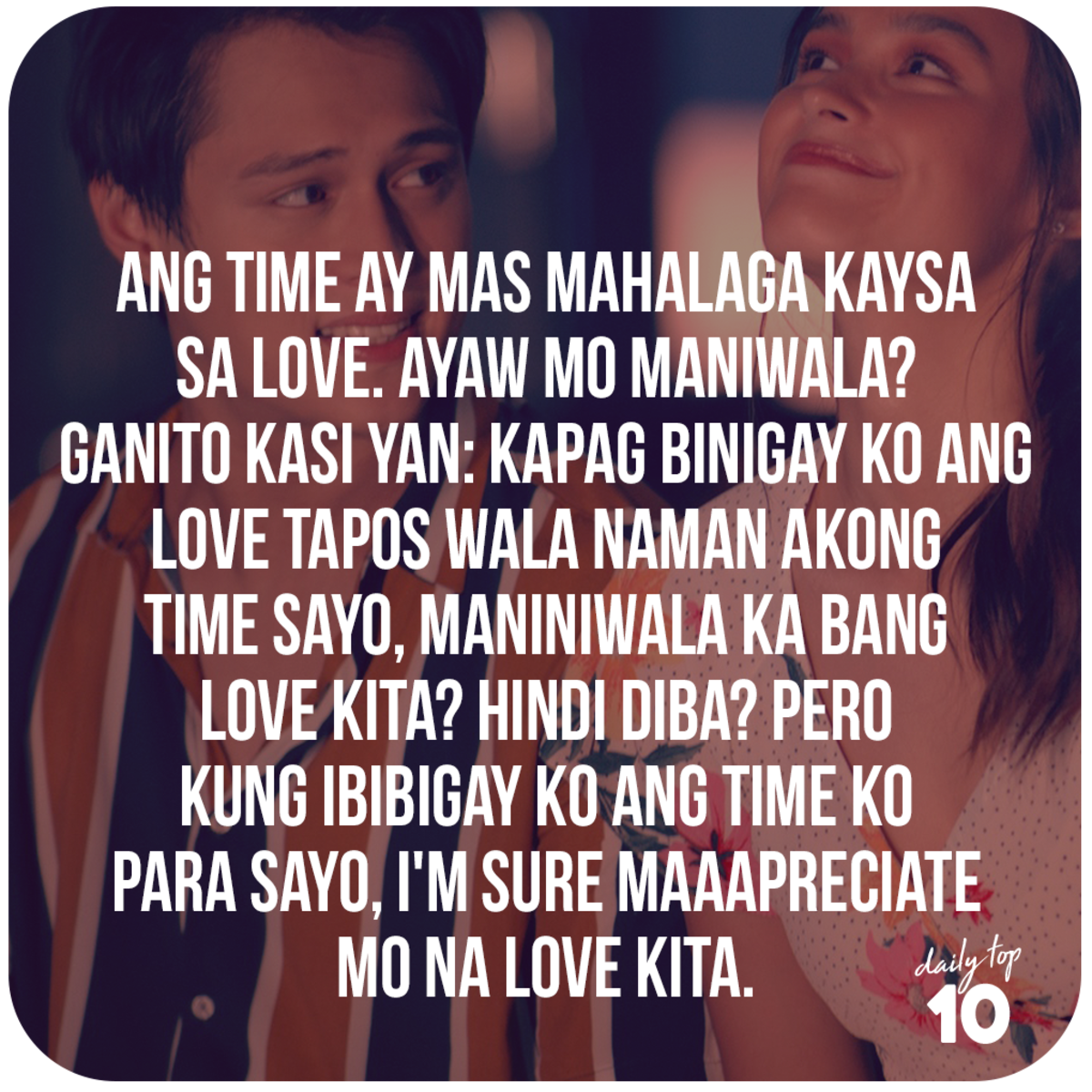 Top 10 Best Filipino Love Quotes Featuring Lizquen, Jadine, and
