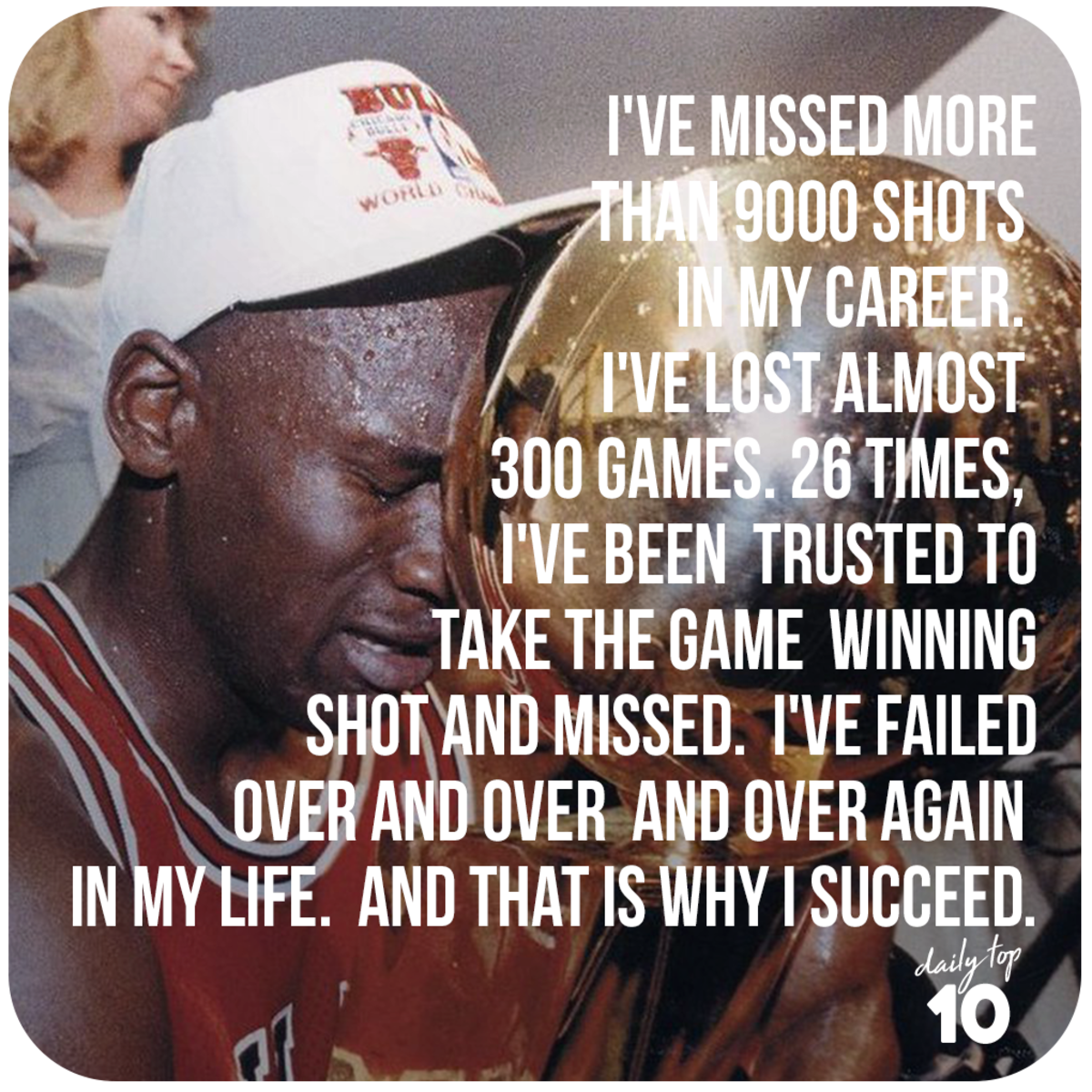 Michael Jordan quote about life