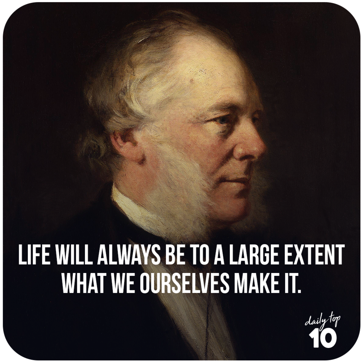 Samuel Smiles quote about life