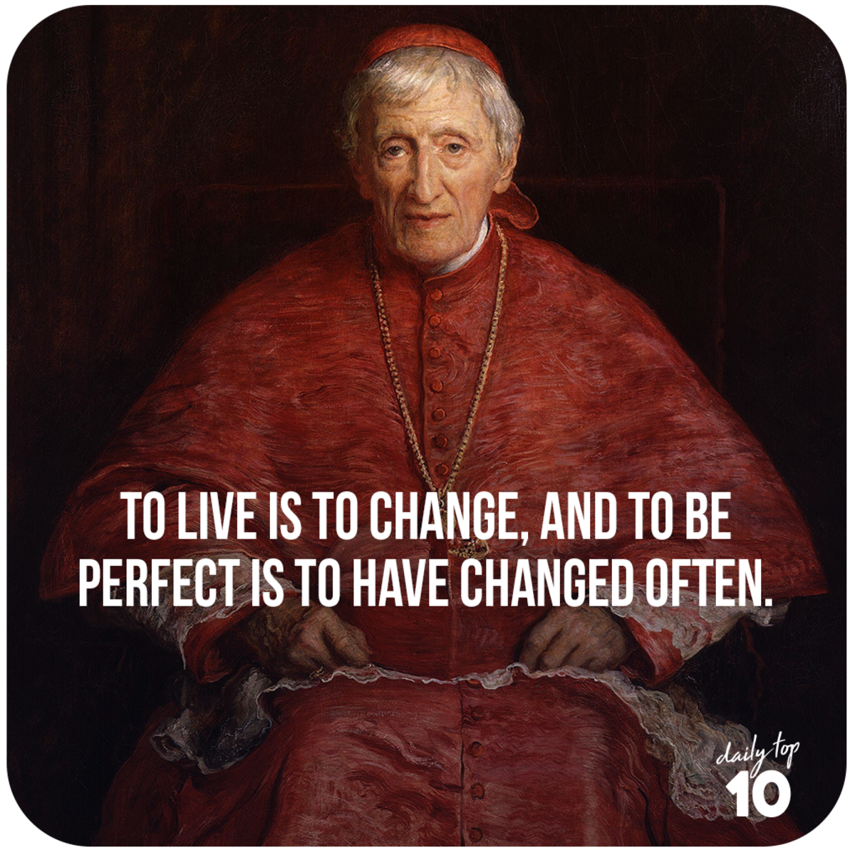 John Henry Newman quote about life