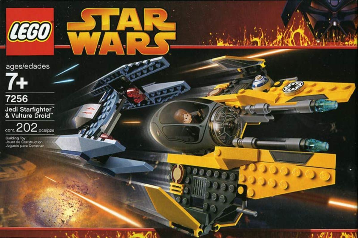 LEGO Star Wars Jedi Starfighter & Vulture Droid 7256 Box