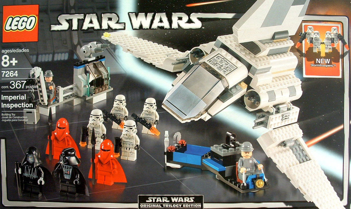 LEGO Star Wars Imperial Inspection 7264 Box