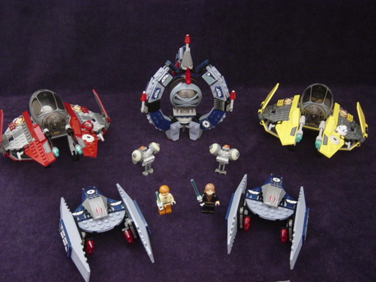 LEGO Star Wars Ultimate Space Battle 7283 Assembled