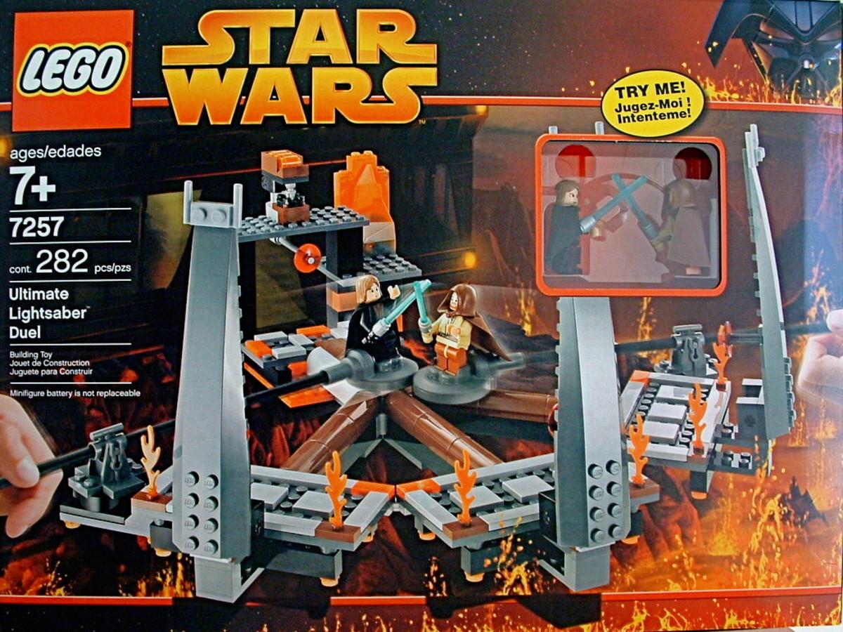 LEGO Star Wars Ultimate Lightsaber Duel 7257 Box