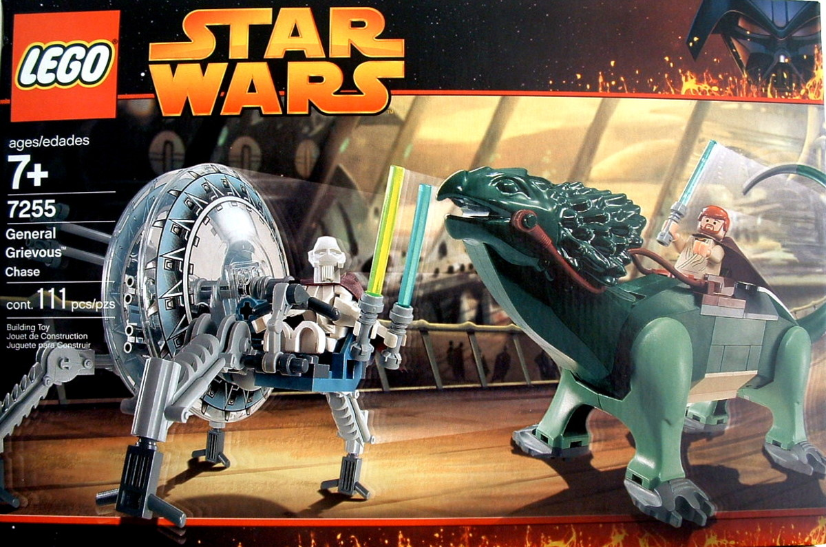 LEGO Star Wars General Grievous Chase 7255 Box