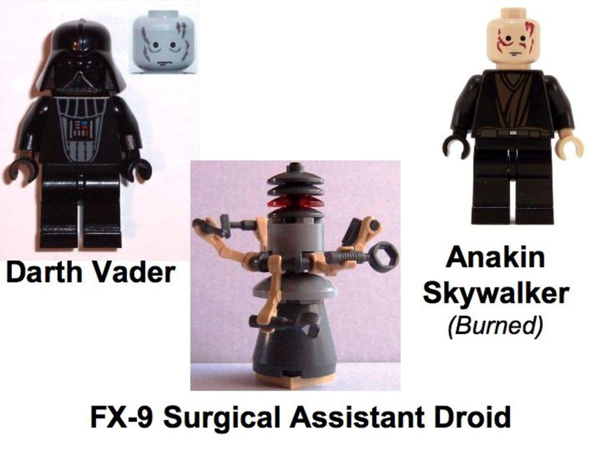LEGO Star Wars Darth Vader Transformation 7251 Minifigures