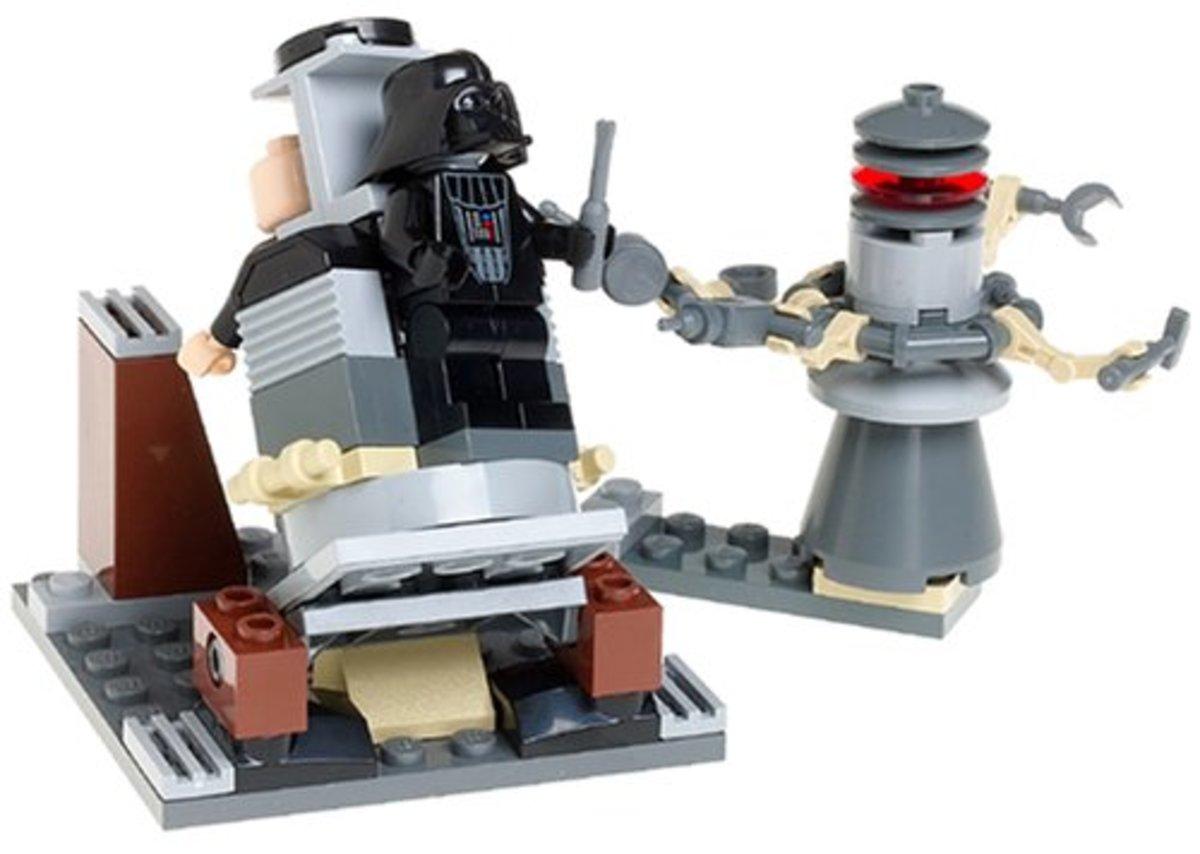LEGO Star Wars Darth Vader Transformation 7251 Assembled