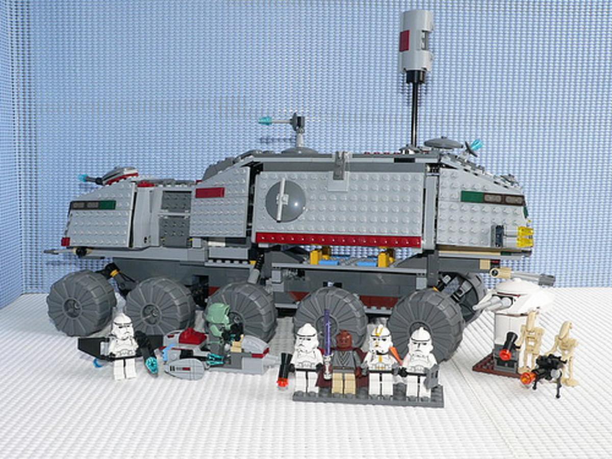 LEGO Star Wars Clone Turbo Tank 7261 Assembled