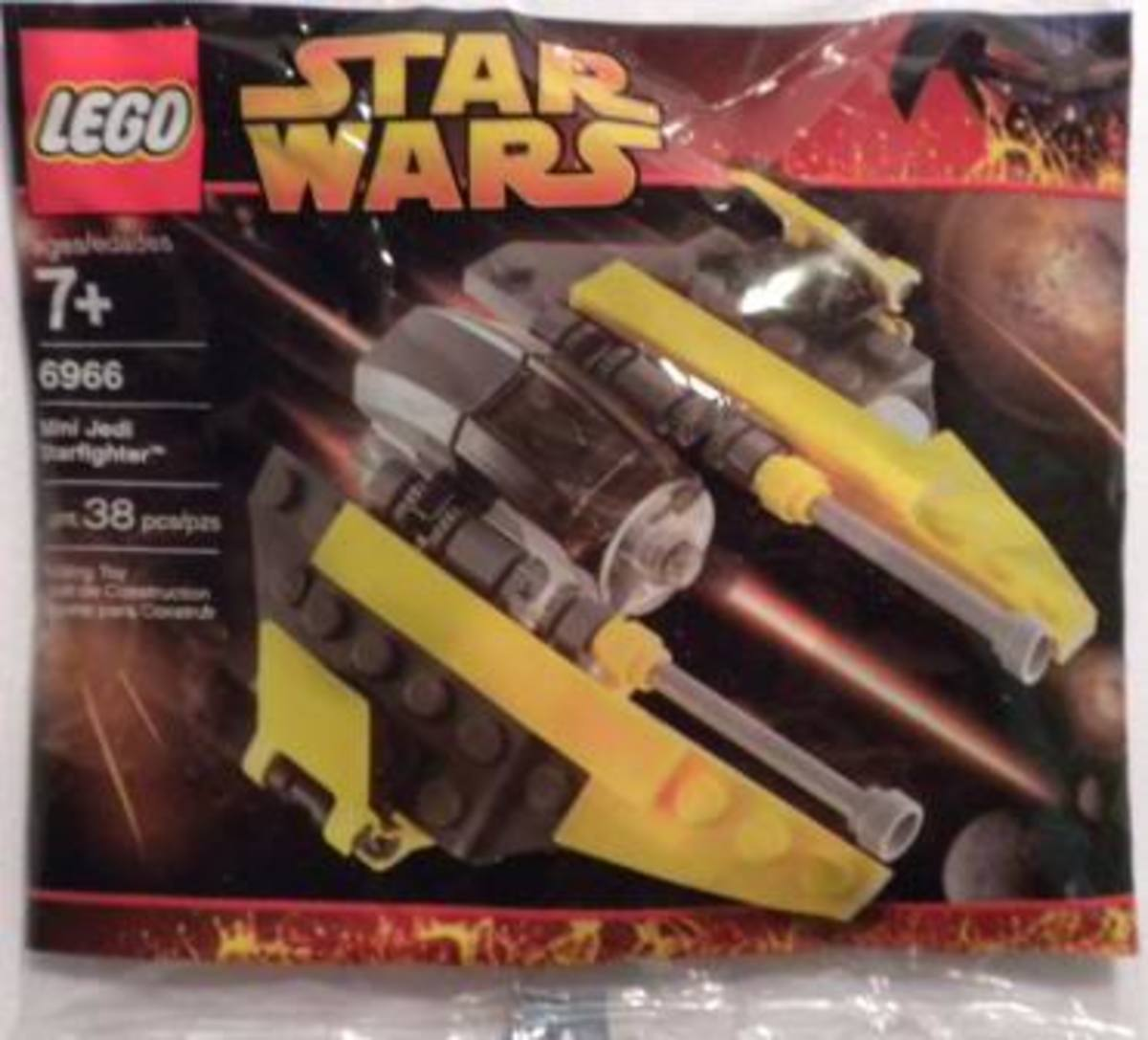 LEGO Star Wars Jedi Starfighter 6966 Bag