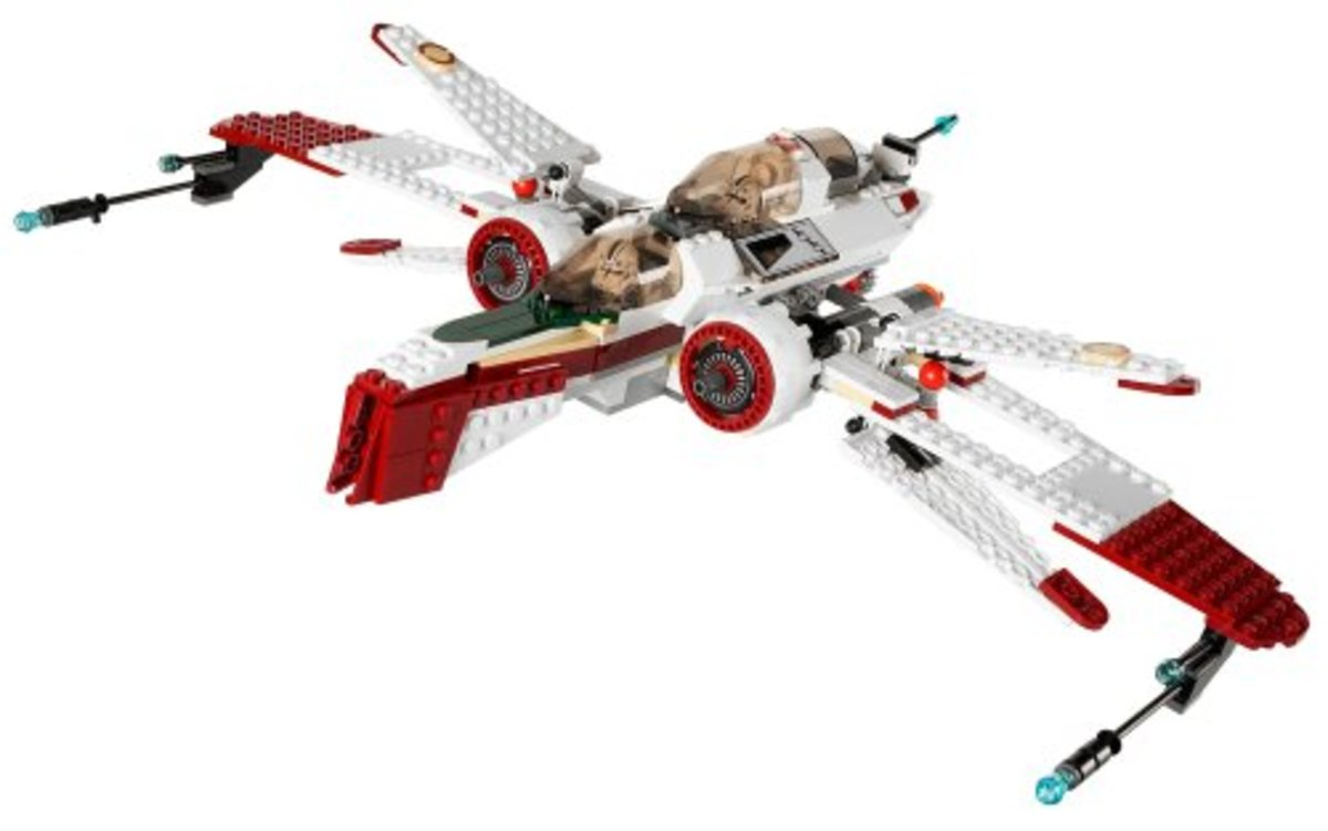 LEGO Star Wars Arc-170 Fighter 7259 Assembled