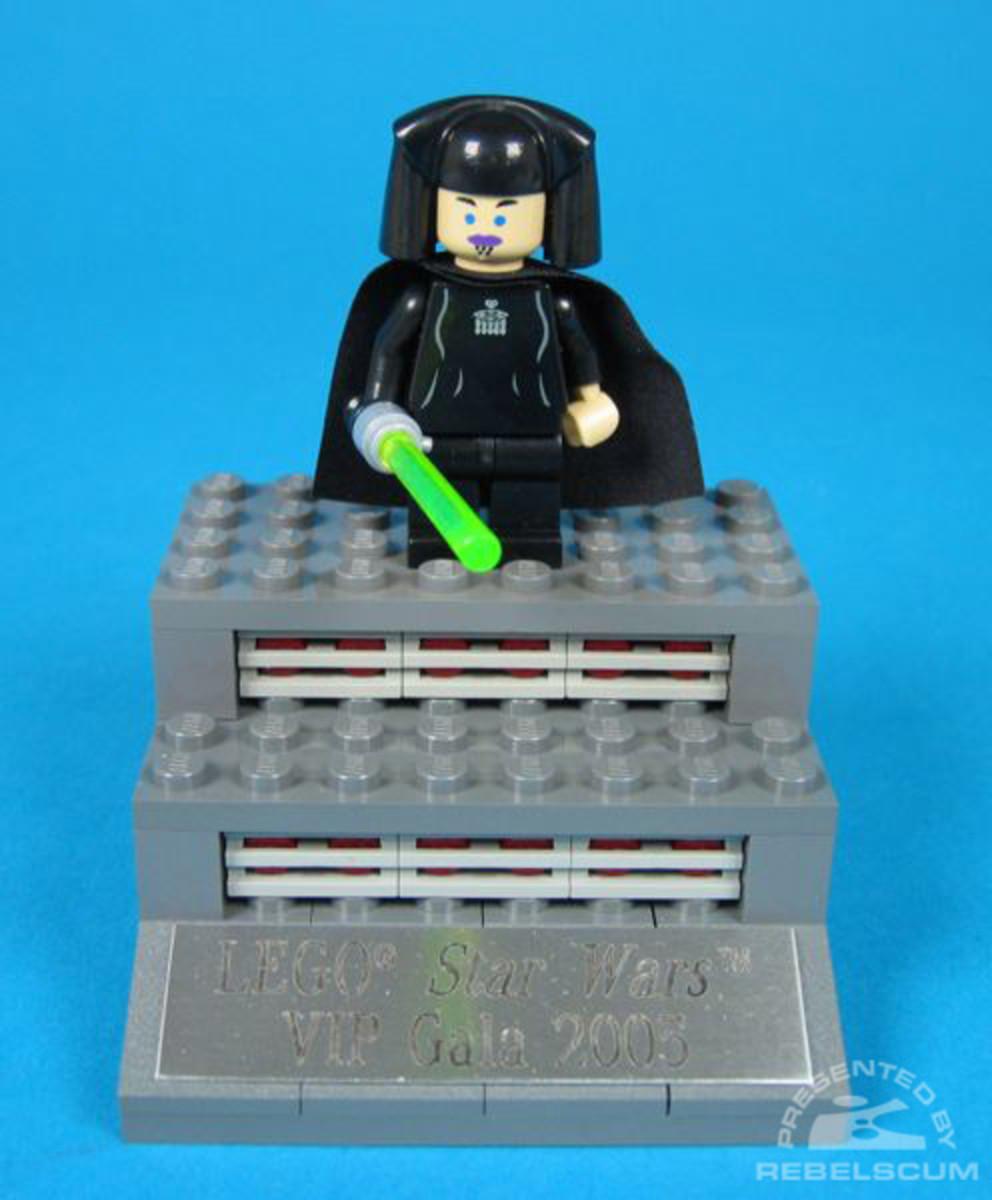 LEGO Star Wars Luminara Unduli Toy Fair 2005 Promo