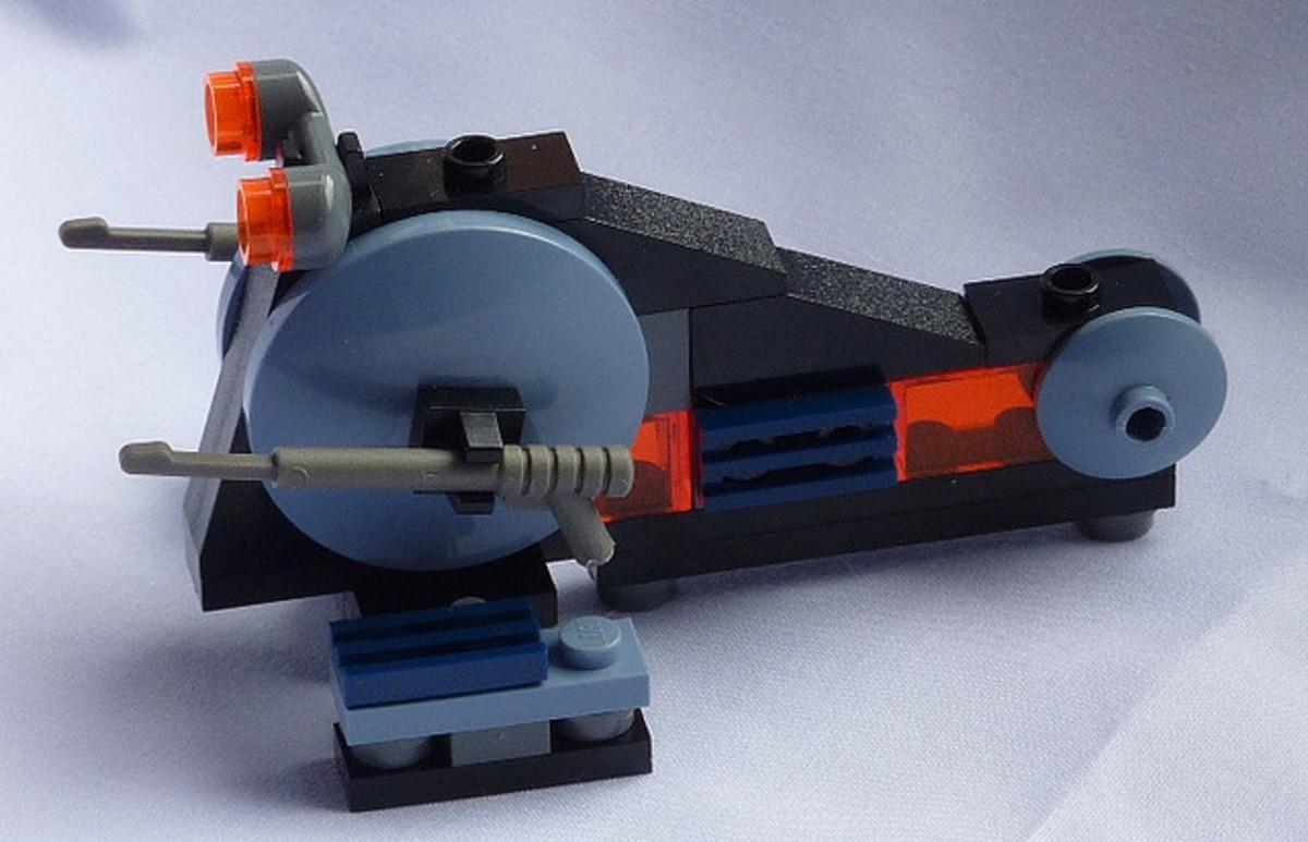 LEGO Star Wars Wookiee Attack Mini Assembled