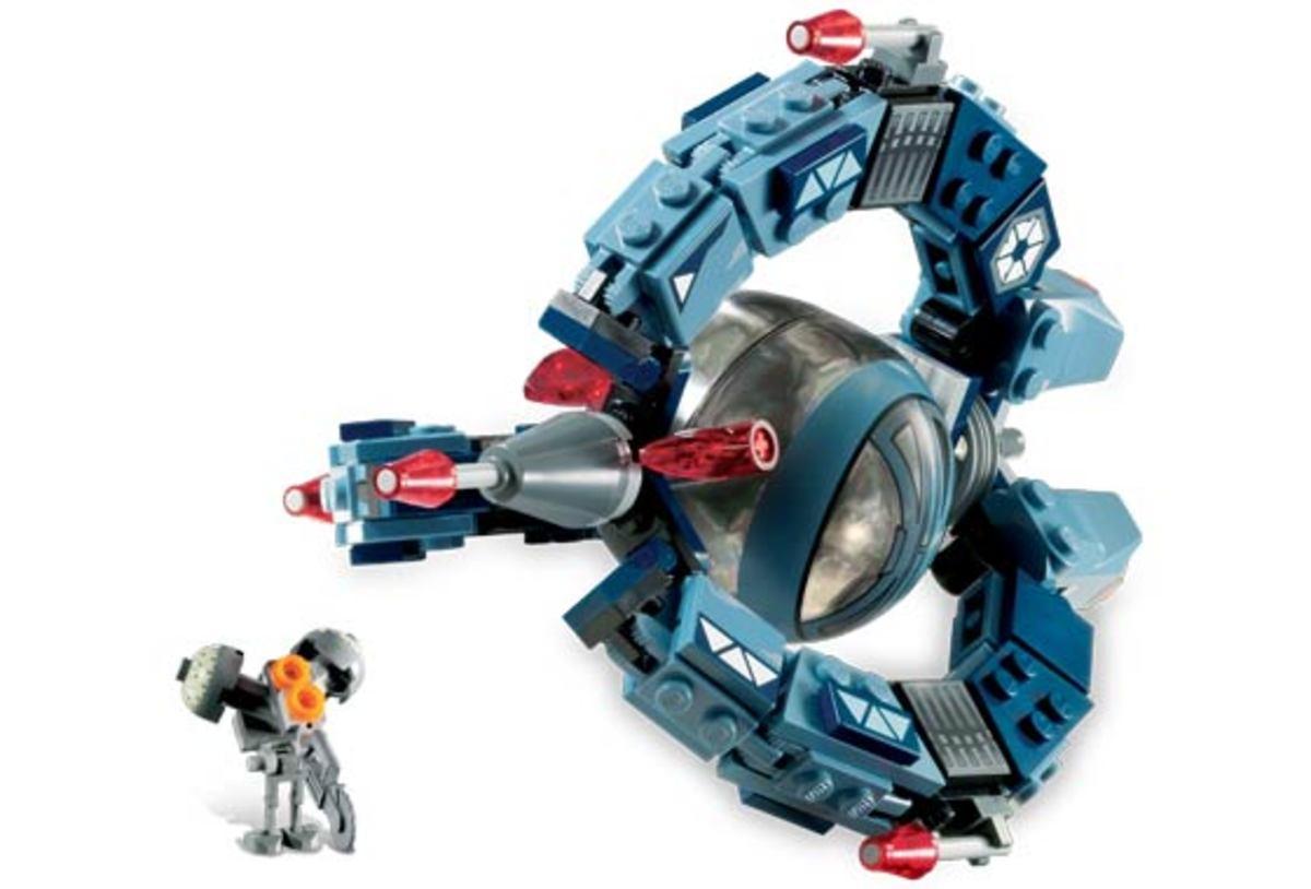 LEGO Star Wars Droid Tri-Fighter 7252 Assembled