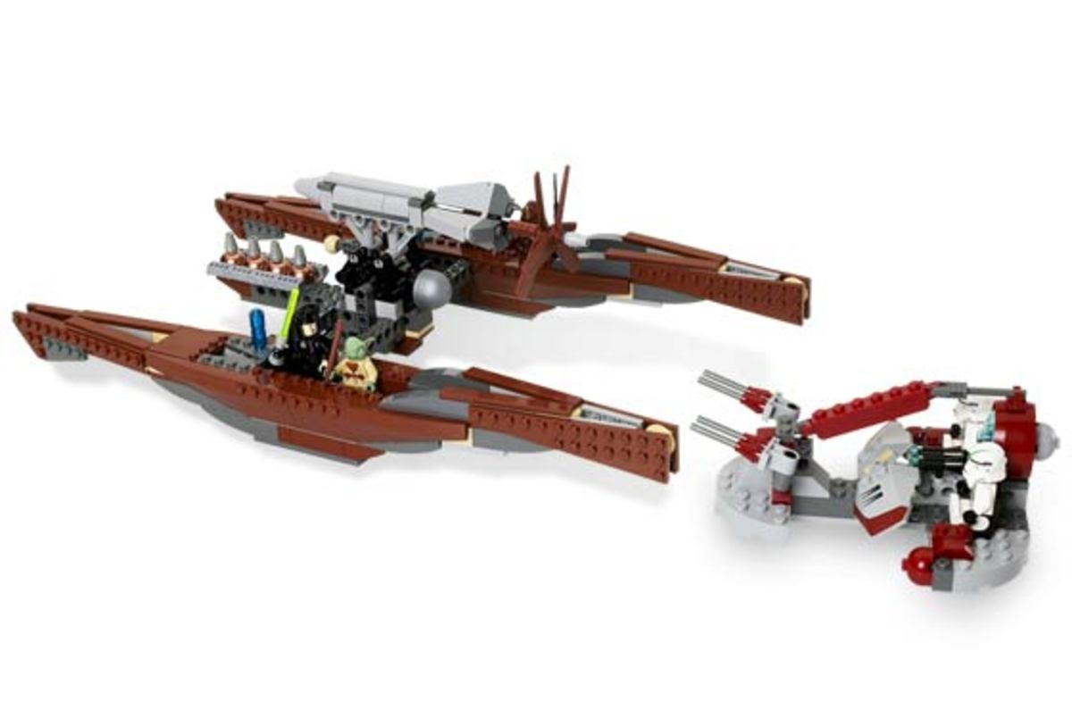LEGO Star Wars Wookiee Catamaran 7260 Assembled