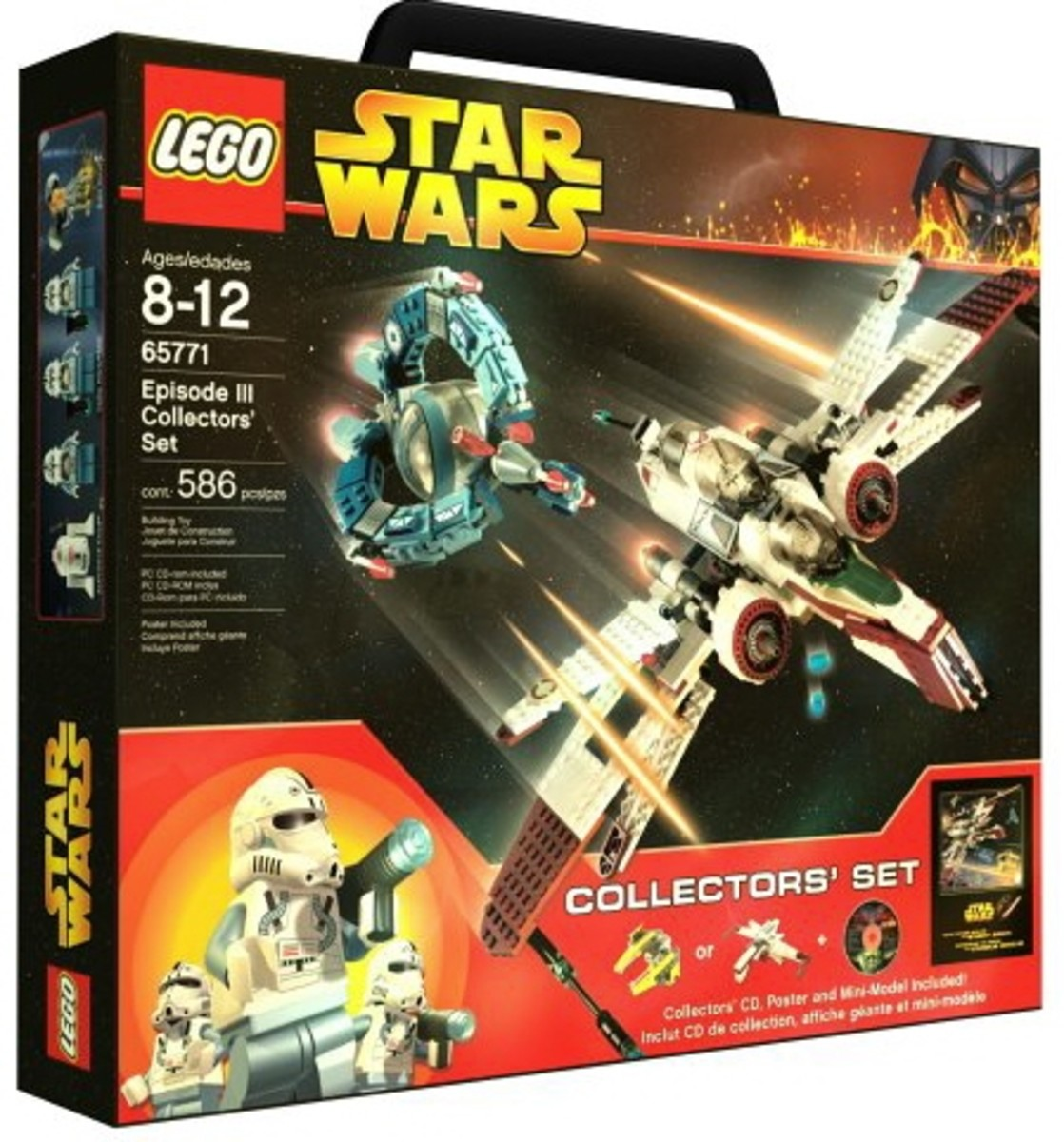 LEGO Star Wars Episode III Collector's Set 65771 Box