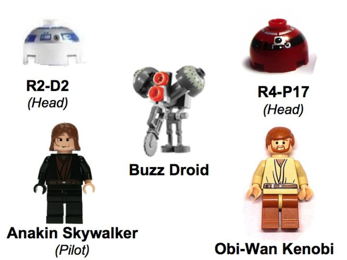 LEGO Star Wars Ultimate Space Battle 7283 Minifigures