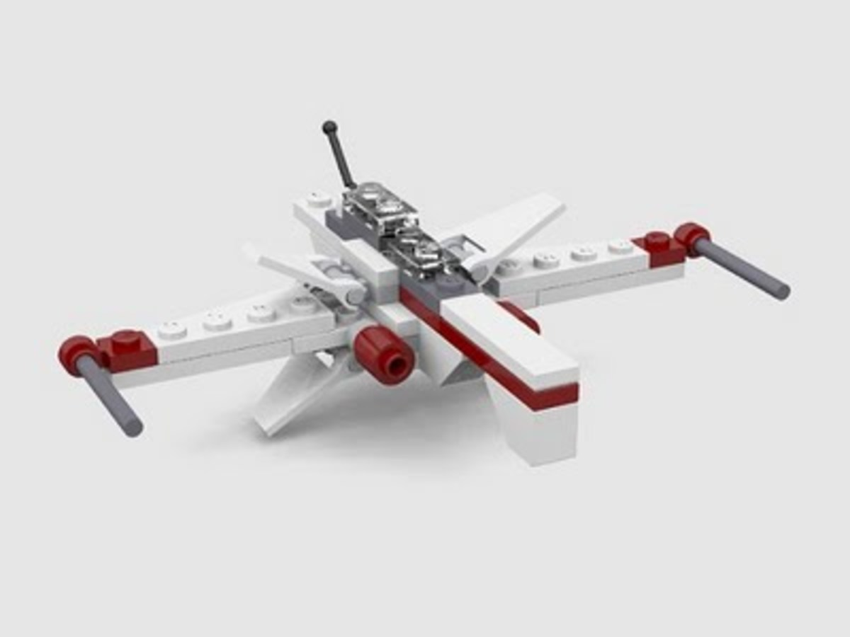 LEGO Star Wars Arc Fighter 6967 Assembled
