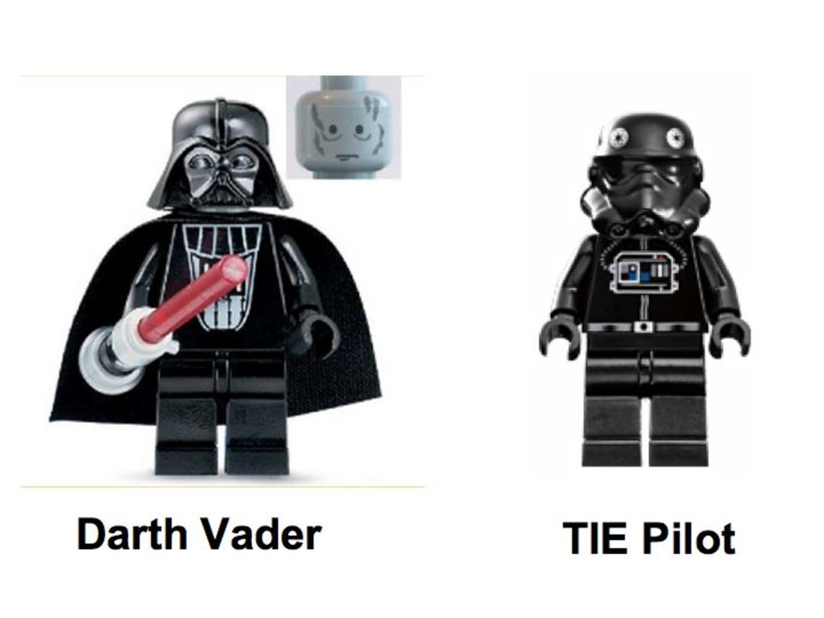 LEGO Star Wars TIE Fighter 7263 Minifigures