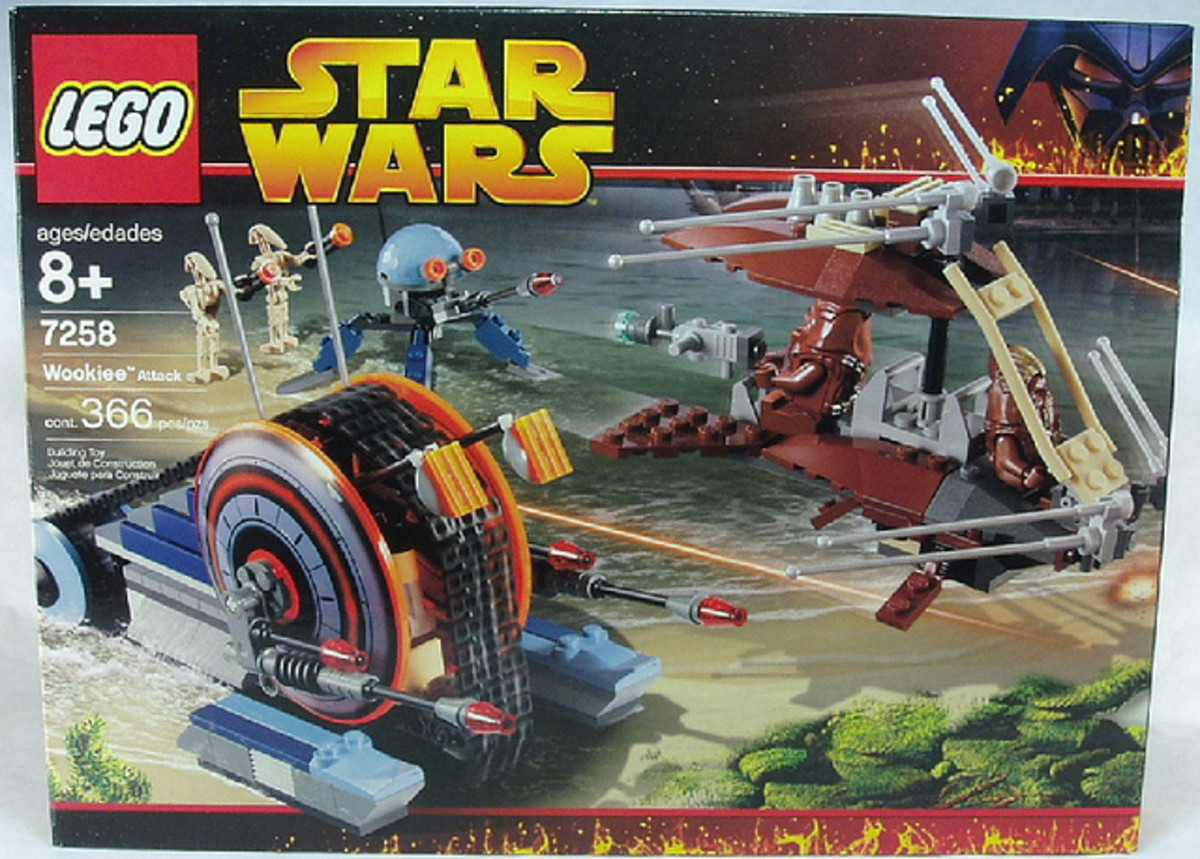 LEGO Star Wars Wookiee Attack 7258 Box