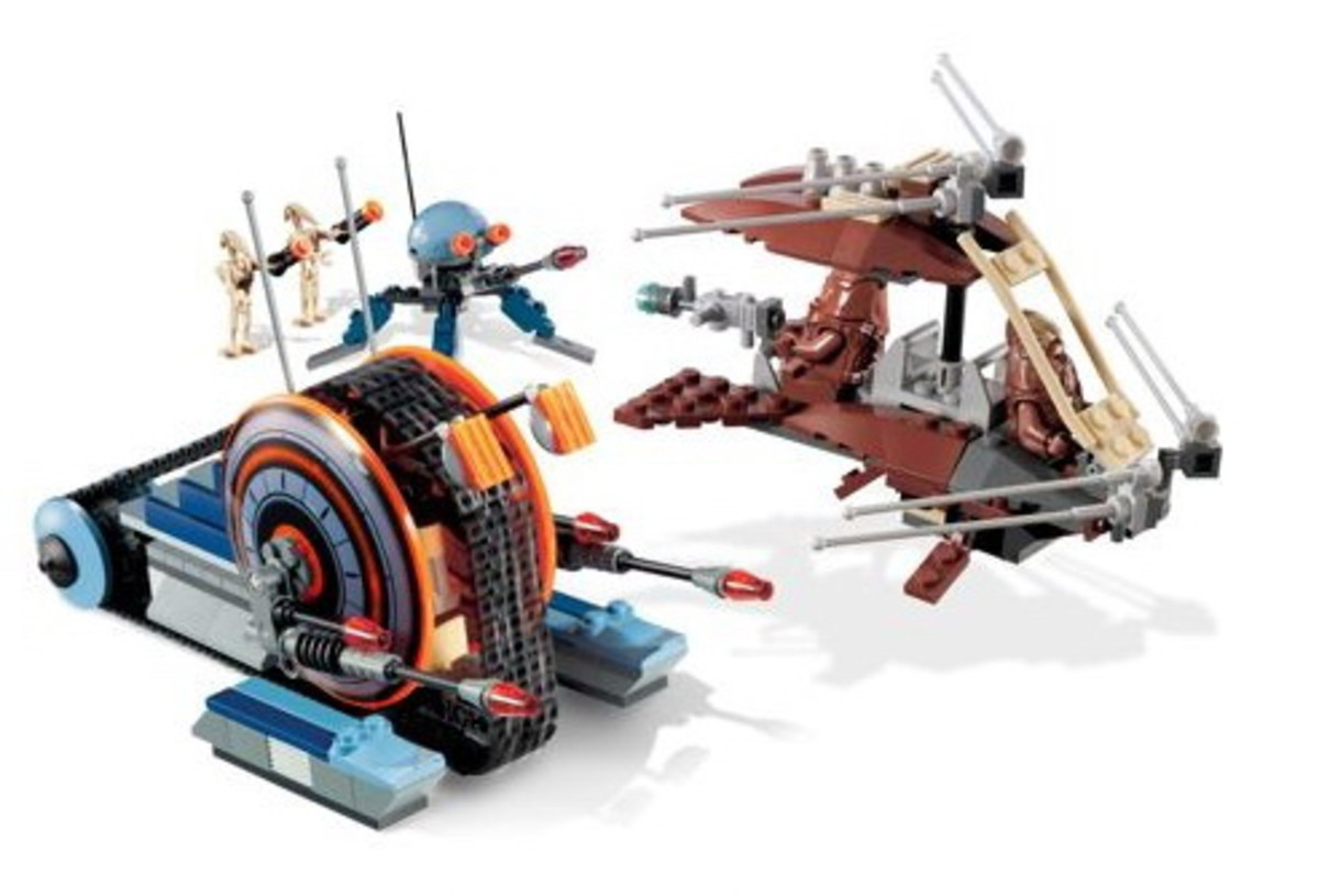 LEGO Star Wars Wookiee Attack 7258 Assembled