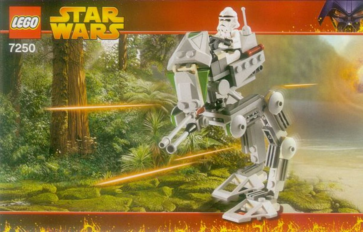 LEGO Star Wars Clone Scout Walker 7250 Box
