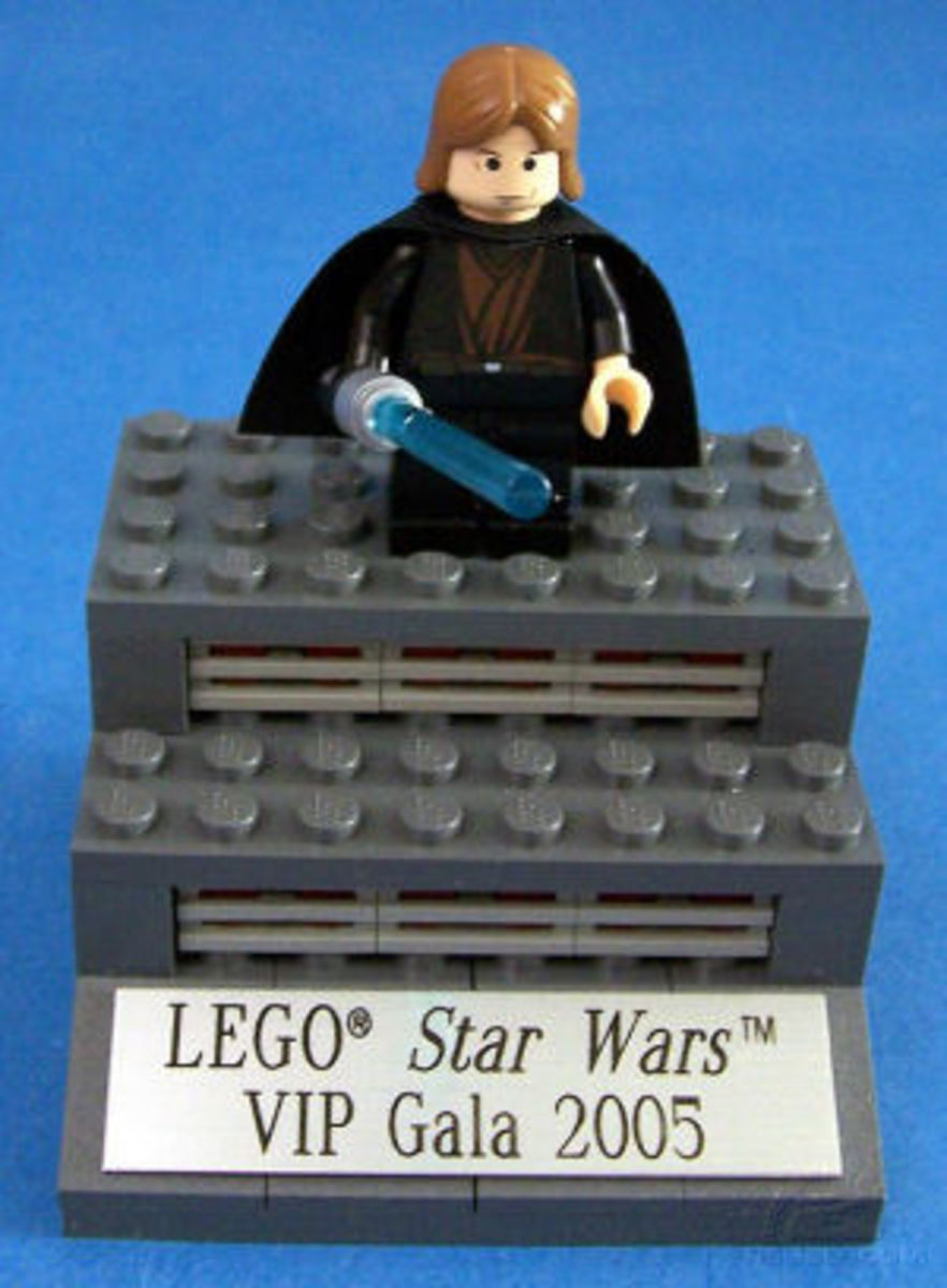LEGO Star Wars Anakin Skywalker Toy Fair 2005 Promo