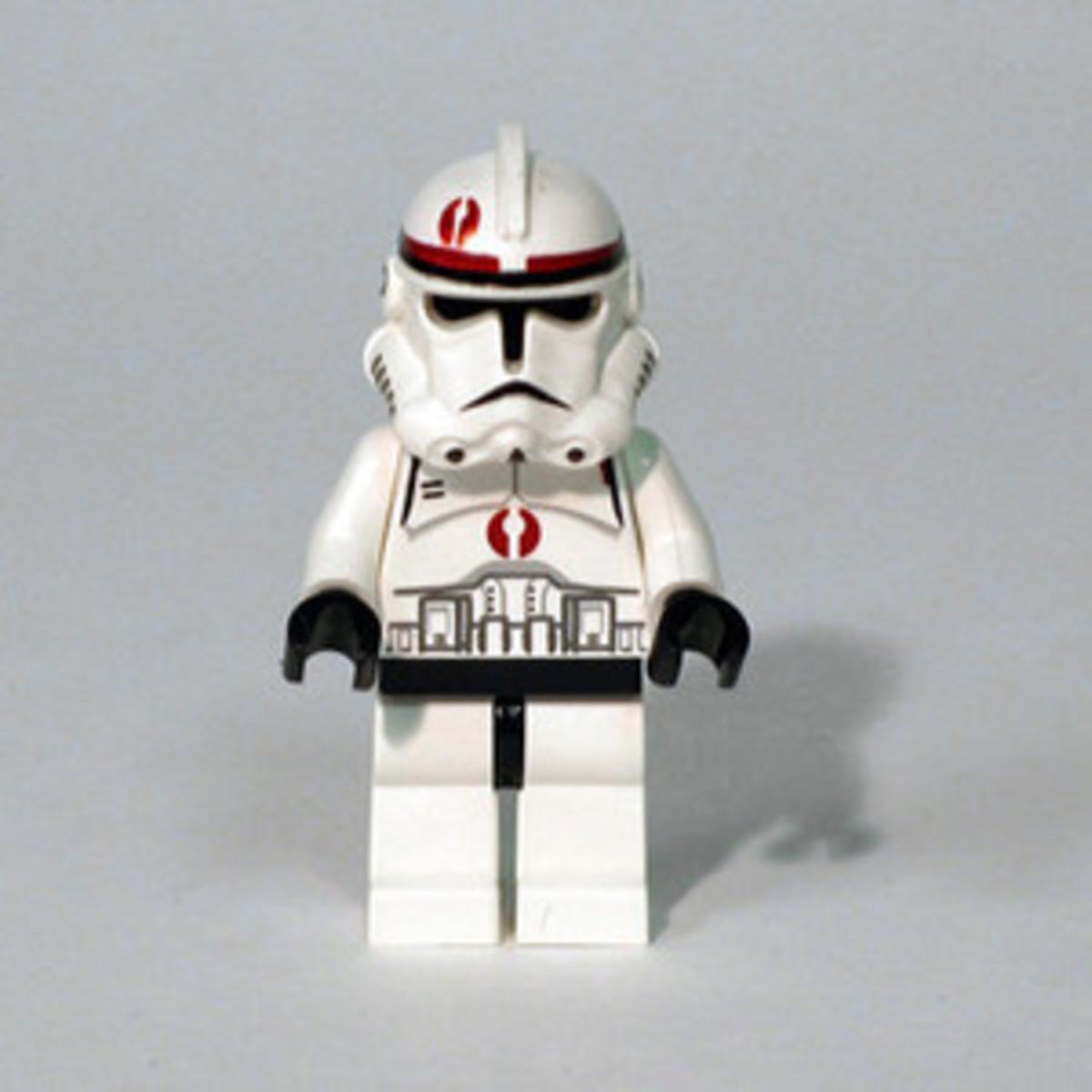 LEGO Star Wars Clone Scout Walker 7250 Clone Recon Trooper Minifigure