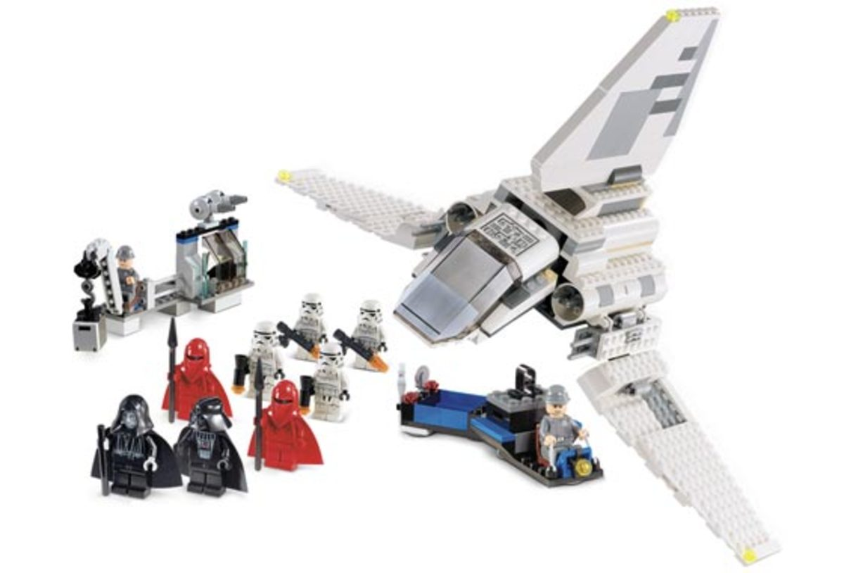 LEGO Star Wars Imperial Inspection 7264 Assembled