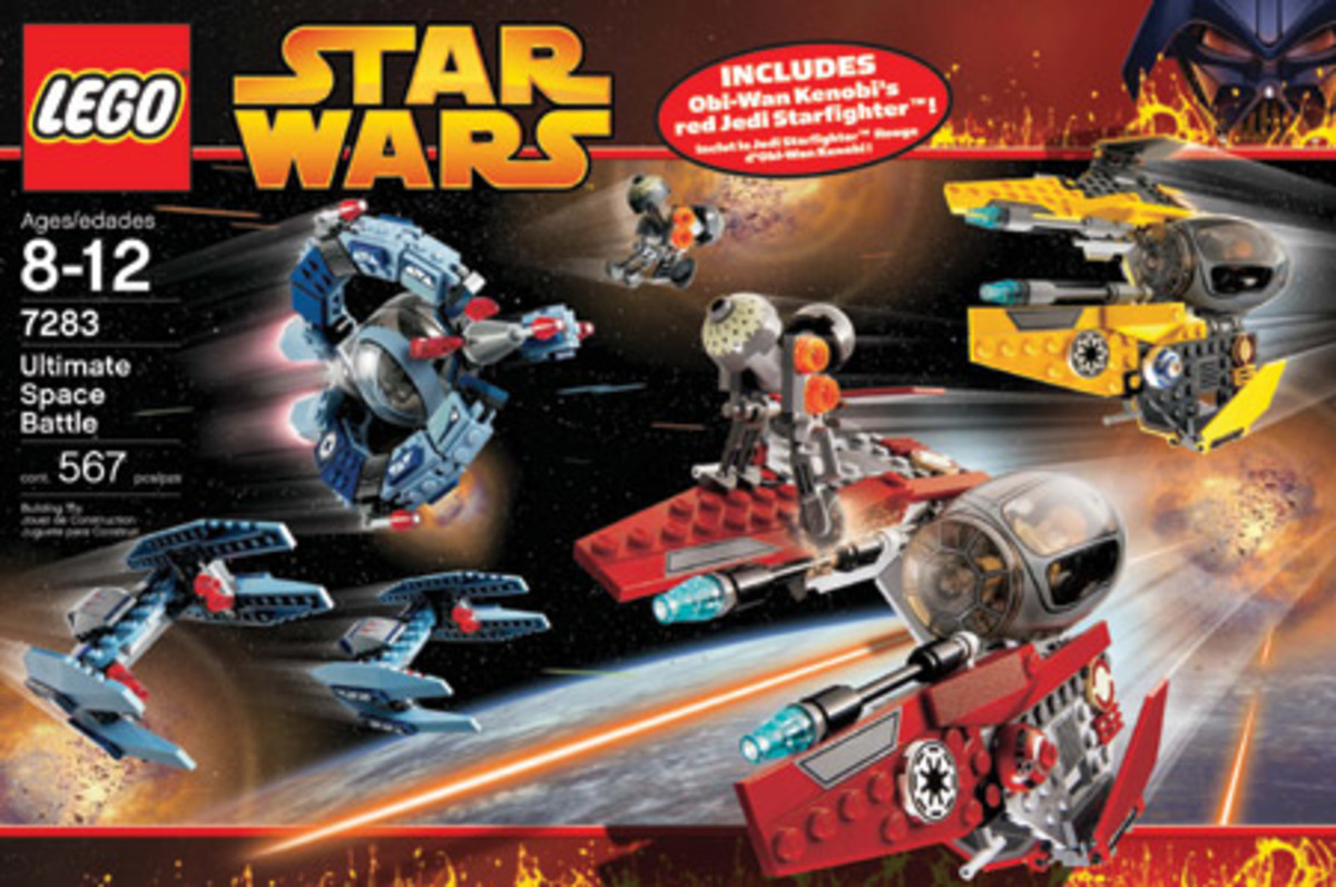 LEGO Star Wars Ultimate Space Battle 7283 Box